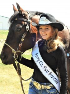 Ferry County Fair Princess Laren Nelson